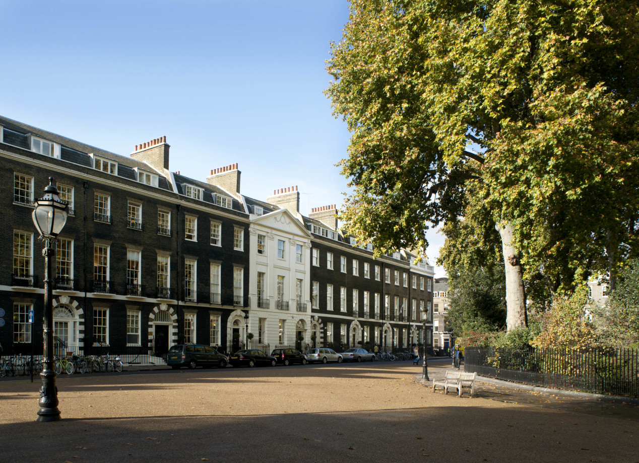 Bedford Square, Home of the London Campus