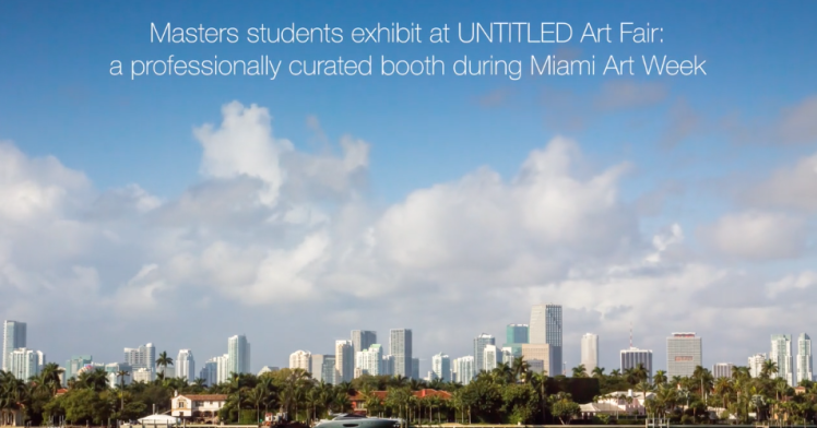 Masters students trip to Miami Art Fair