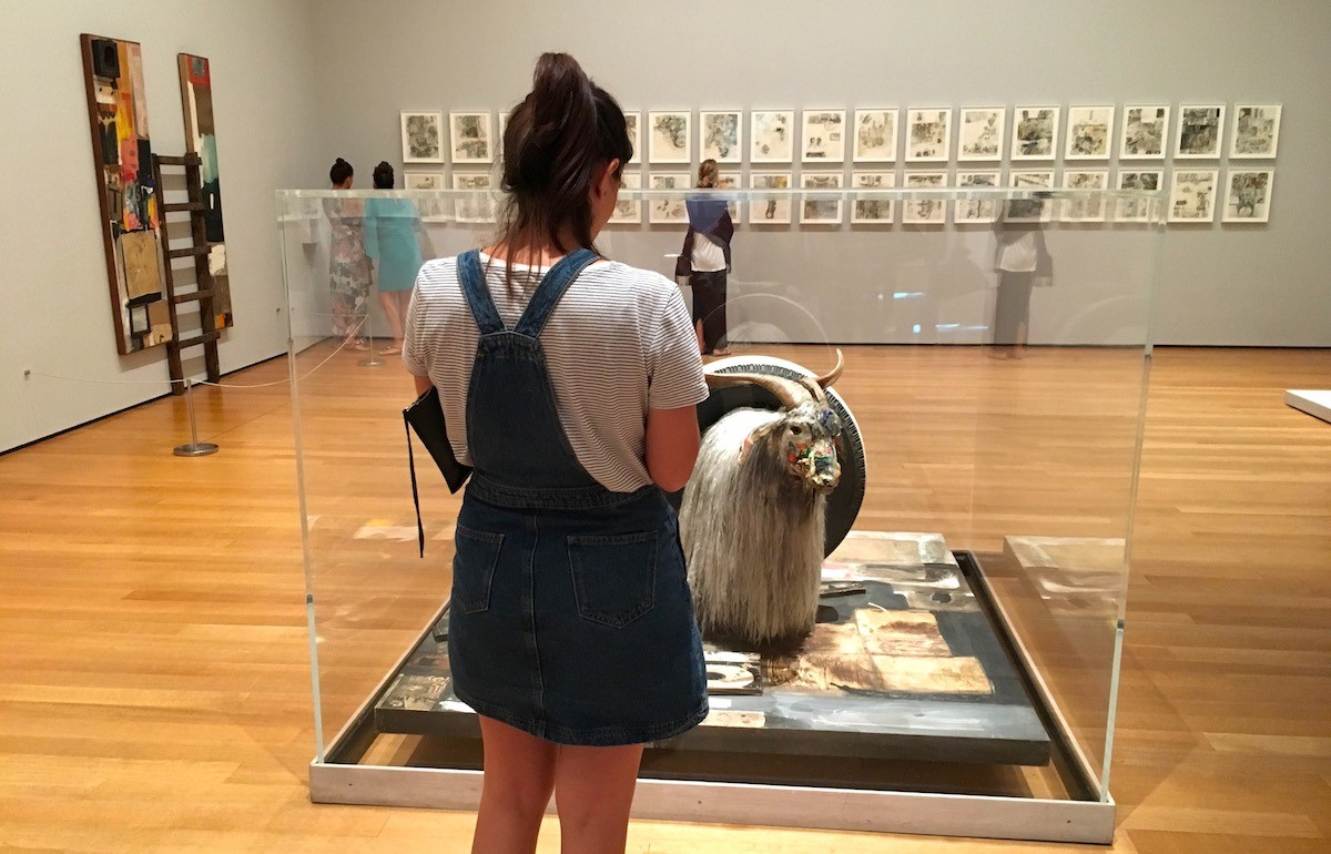 Robert Rauschenberg Experiments With Art and Technology