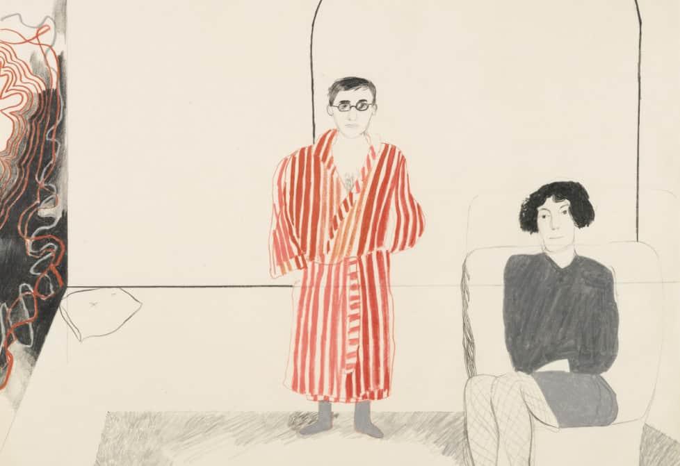 david-hockney-portrait-of-kas-and-jane-december-1965