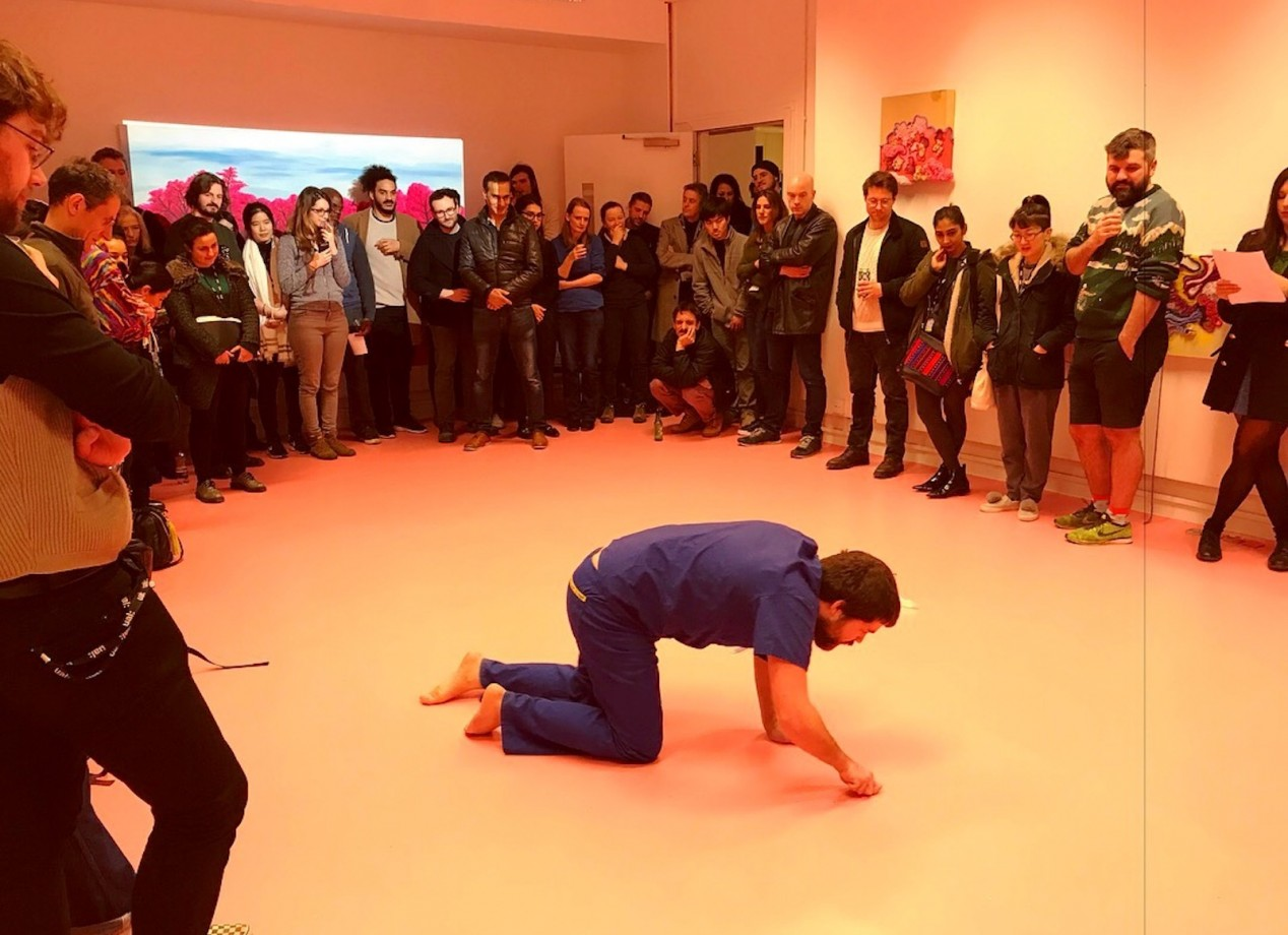 Opening night performance by Rob Wood