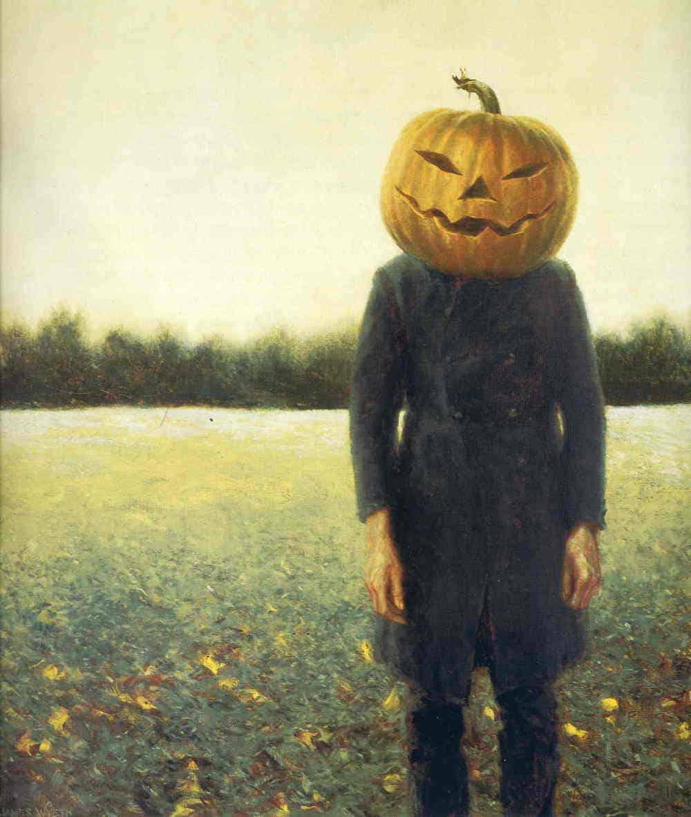 jamie-wyeth-pumpkinhead-self-portrait-1972