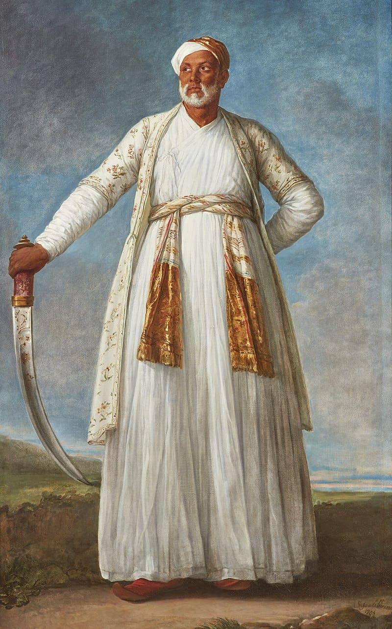 Portrait of Muhammad Dervish Khan by Elisabeth-Louise Vigée Le Brun