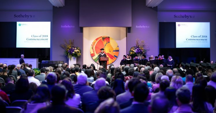 Sotheby's Institute-New York Class of 2018 Commencement Welcome Address